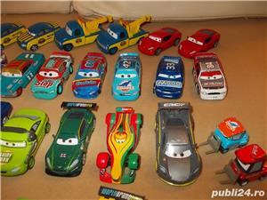 Masinute cars metal de curse - Fulger McQueen si concurentii Disney - 20-35 ron bucata - imagine 2