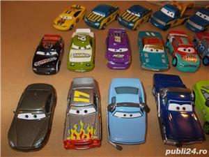 Masinute cars metal de curse - Fulger McQueen si concurentii Disney - 20-35 ron bucata - imagine 5