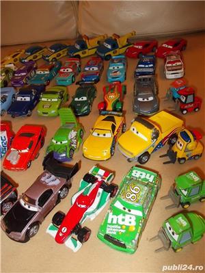 Masinute cars metal de curse - Fulger McQueen si concurentii Disney - 20-35 ron bucata - imagine 3