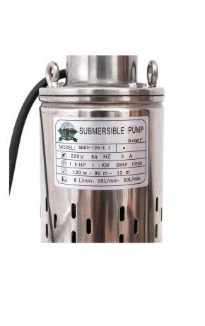 Pompa apa 1.1 KW 120 m, 3m cubi / ora, 1 tol Toni Qgd3, Submersibila - imagine 2