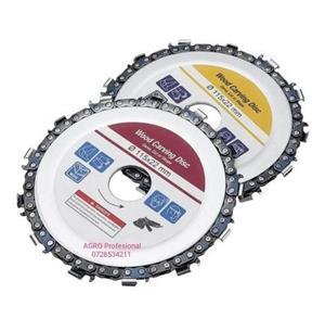 Disc flex polizor unghiular cu lant de drujba 115mm - imagine 1
