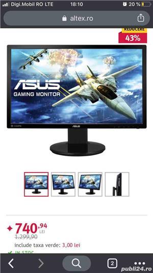 Vand Desktop Gaming Acer Nitro GX50-600 plus Monitor Gaming Asus 144Hz - imagine 8