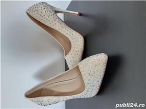 Pantofi ocazie masura 37 - imagine 3