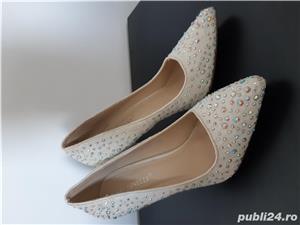 Pantofi ocazie masura 37 - imagine 4