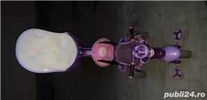 Vand Tricicletă Fisher Royal 157 violet-roz  - imagine 3