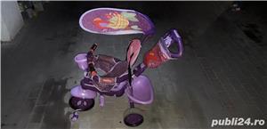 Vand Tricicletă Fisher Royal 157 violet-roz  - imagine 2