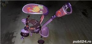 Vand Tricicletă Fisher Royal 157 violet-roz  - imagine 5