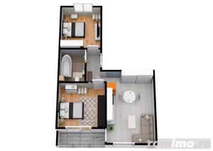 Apartament 3 camere   Decomandat   La CHEIE   Rate Dezvoltator - imagine 5