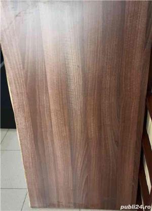 Blat lemn 100x60 cm - imagine 1