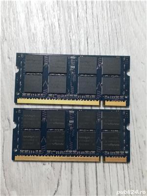 memorii laptop 2 x 1gb ddr 2 nanya - imagine 2