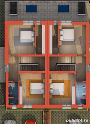 Casa cu 3 camere, curte, 2 locuri parcare, Dumbravita - 99.000 euro - imagine 4