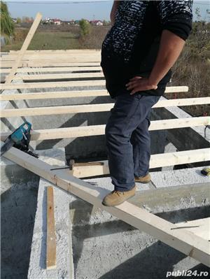 Dulgher fac acoperise montez tabla Linda cu materialele mele sau ale clientului  - imagine 6