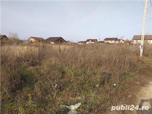 Miroslava la 1 km de Primarie teren 650 mp intravilan - imagine 3