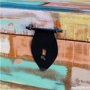 ufăr de depozitare din lemn reciclat de esență tare vidaXL 243277 - imagine 2