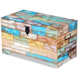 ufăr de depozitare din lemn reciclat de esență tare vidaXL 243277 - imagine 1