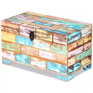 ufăr de depozitare din lemn reciclat de esență tare vidaXL 243277 - imagine 3