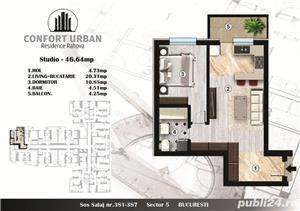 Apartament 2 camere tip studio,predare rapida,Confort Urban Rahova - imagine 4