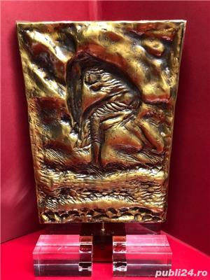 Sulptură din Bronz de PERICLE FAZZINI - MATELDA Ediție Limitată 1980 - imagine 5