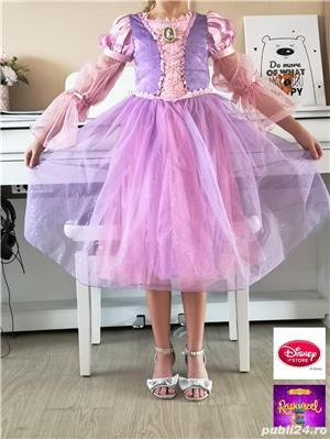 Rochie Rapunzel originala Disney, care lumineaza, 5 - 6 ani - imagine 1