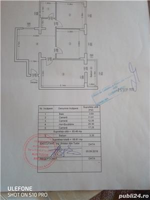 Vând apartament 3 C,Dec. 68 m2 la 52900 merita vazut in Mircea cel bătrân - imagine 2