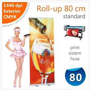 Roll-up 80 x 200 cm Standard – 125 lei - imagine 1
