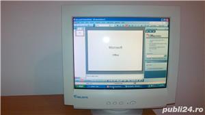 CALCULATOR COMPLET, tastatura NOUA, mouse, monitor. Cu Microsoft Office necesar pentru copii scoala - imagine 1