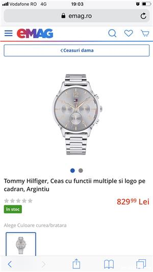 Ceas dama Tommy Hilfiger  - imagine 3