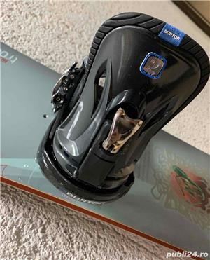 Snowboard Burton 151cm + Legaturi Burton P1 - Dama - imagine 1
