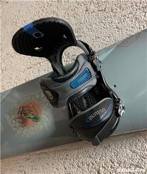 Snowboard Burton 151cm + Legaturi Burton P1 - Dama - imagine 8