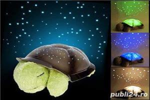 3 in 1 proiector constelatie jucarie muzicala lampa veghe veioza cer instelat broasca testoasa - imagine 2