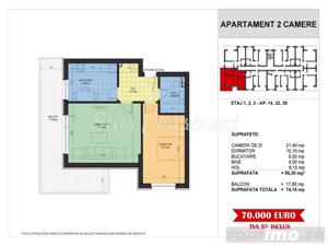 Apartament 2 camere | Ac Inclus | Comision 0. - imagine 8