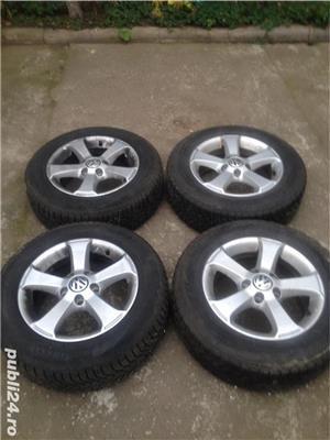 Jante VW 5x112 +gume195 65 15  - imagine 1