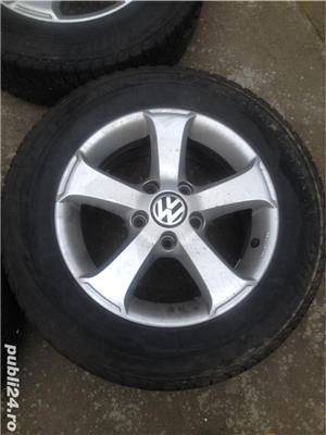 Jante VW 5x112 +gume195 65 15  - imagine 5