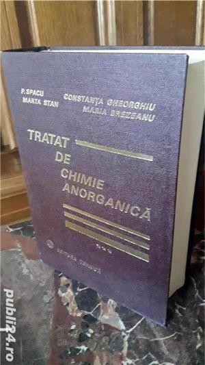 Carte tehnica: Tratat de chimie anorganica, de Spacu si Gheorghiu - imagine 1