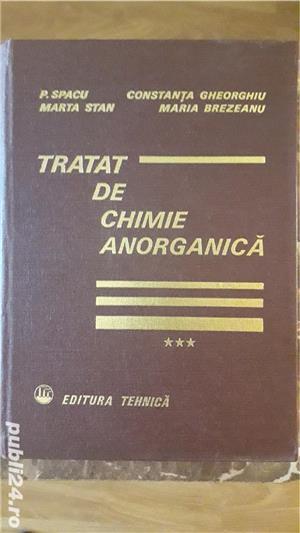 Carte tehnica: Tratat de chimie anorganica, de Spacu si Gheorghiu - imagine 2