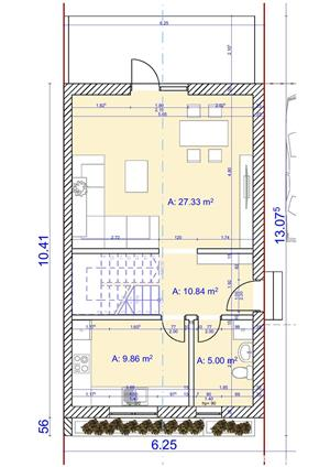 Vind case individuale Braytim, 4 camere , toate utilitatile 145 mpc , asfalt - 129.900 Euro - imagine 5