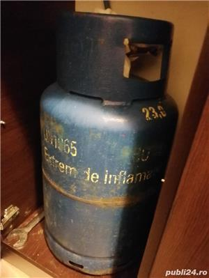 Vând butelie albastra STAS - imagine 2