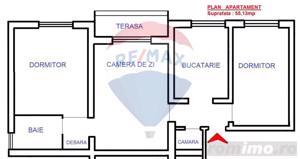 Apartament 3 camere de vanzare Oradea - imagine 8