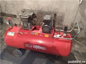 Compresor OMA 200 de litri 220v - imagine 1