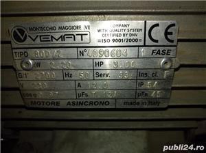 Compresor OMA 200 de litri 220v - imagine 6
