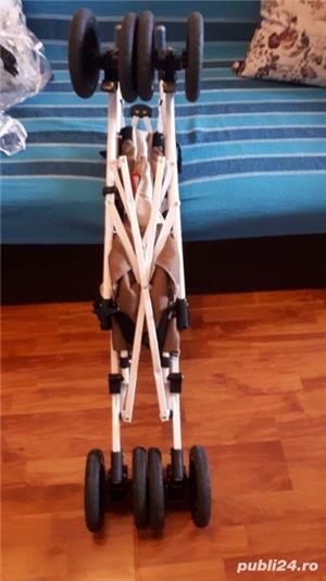 Carucior Pegaz pentru copiii cu dizabilitati, handicap tetrapareza spastica. - imagine 5