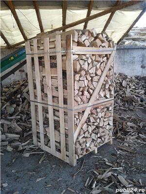 Lemn de foc paletizat stejar - imagine 2