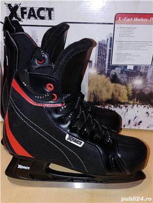 Vand patine gheata X-Fact hockey Pro - marimea  41 - imagine 1