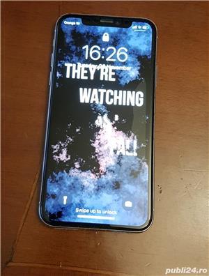 Iphone X 64gb (+folie privacy si husa unicorn beetle ares) - imagine 1