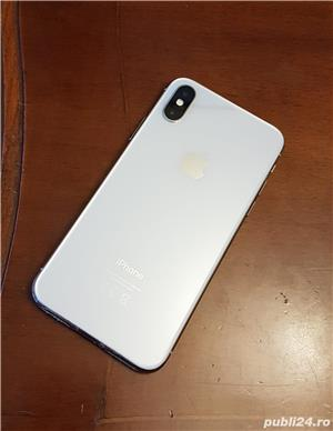Iphone X 64gb (+folie privacy si husa unicorn beetle ares) - imagine 2