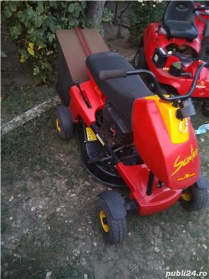 Tractor mic iarba gazon adus acum Germania - imagine 1