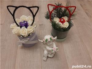 Flori de sapun parfumate pentru cadouri - imagine 3