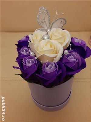 Flori de sapun parfumate pentru cadouri - imagine 5