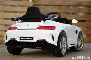 Masinuta electrica pentru copii Mercedes GT-R Alb Nou - imagine 6