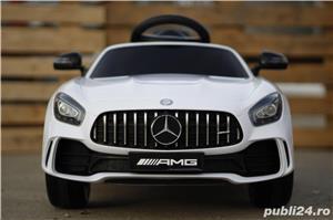 Masinuta electrica pentru copii Mercedes GT-R Alb Nou - imagine 5